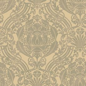 wallpaper is back! love this for our downstairs powder room.