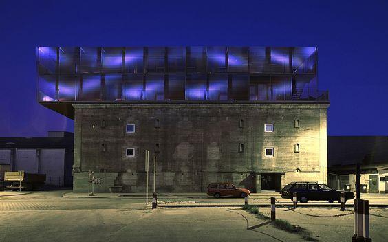 Frankfurt bunker outside Modern Military Architecture - reddy k chen frankfurt