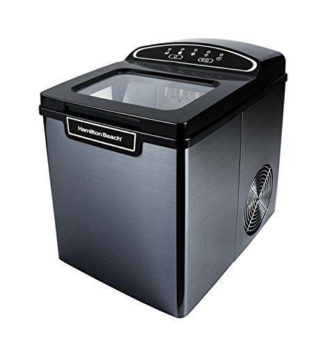 Hamilton Beach Pim 2 3a Portable Ice Maker 26 Lb Capacity Black