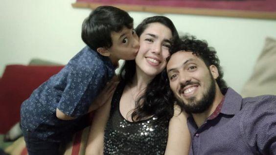 Una familia de tres