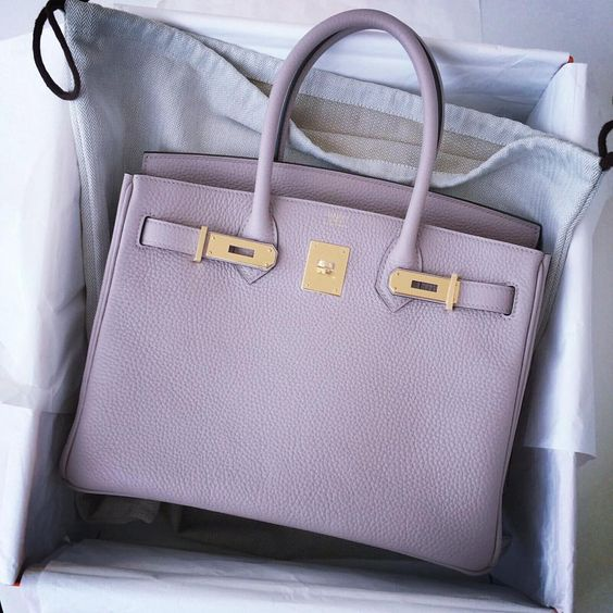 hermes birkin outlet - Hermes glycine birkin in 30cm gold hardware | Handbags | Pinterest ...