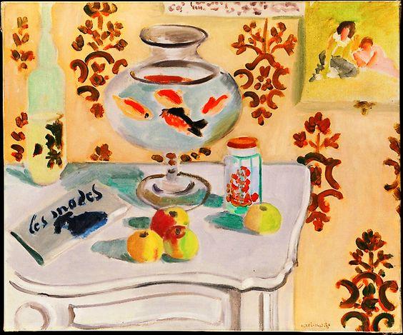 The Goldfish Bowl - Henri Matisse, winter 1921-1922