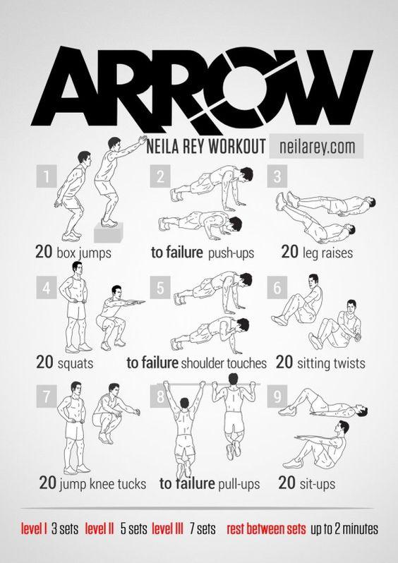 cubo rutina de ejercicio