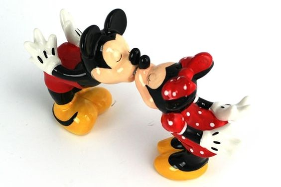 Kissing Mickey and Minnie....Waaaaaay Better.