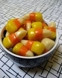 vegan candy corn;)