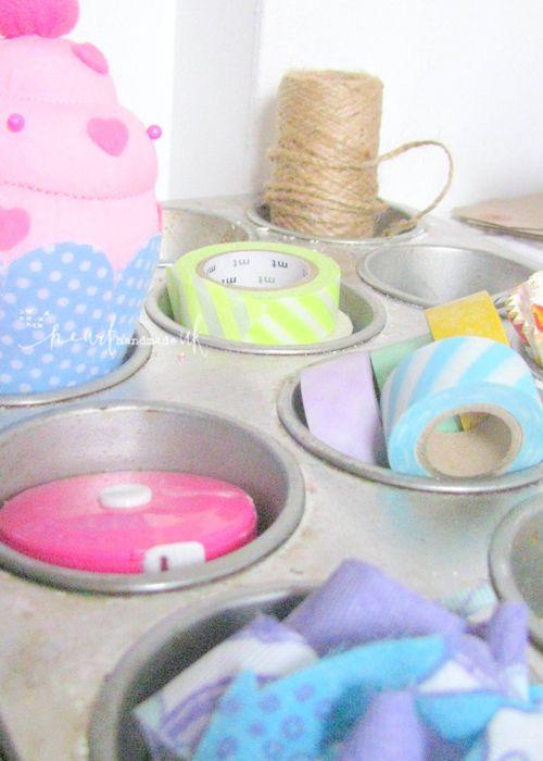 Heart Handmade UK: My Craft Room | Craft Storage on Expedit Shelves