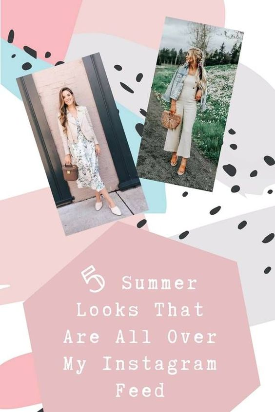 5 Summer Looks That Are All Over My Instagram Feed - the stylish thing. summer looks 2018 - summer style 2018 - summer trends 2018 - summer trendy outfits - summer trendy outfits casual - summer trendy outfits street style - summer trendy outfits for women - summer trendy outfits casual - summer trendy outfits 2018 - summer outfits - summer outfit ideas 2018 - summer outfits 2018.