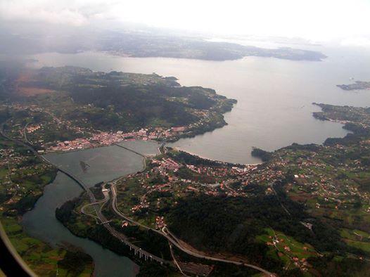 Ría de Ares y su entorno en la provincia de La Coruña, España, Spain.