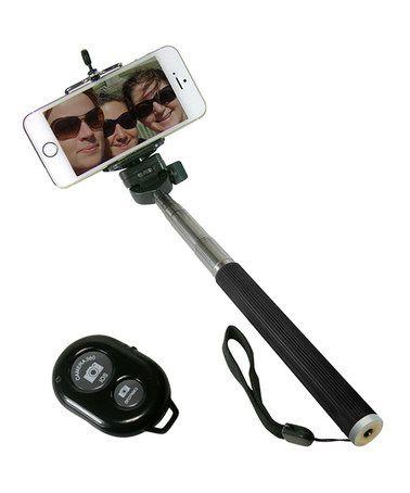 Another great find on #zulily! Black Camera Shutter Button & Selfie Stick #zulilyfinds