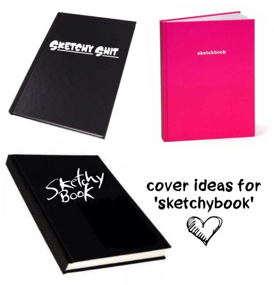 (cover ideas for 'sketchybook'...!)