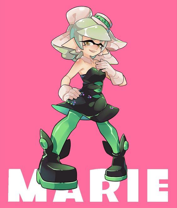 Marie #SquidSisters