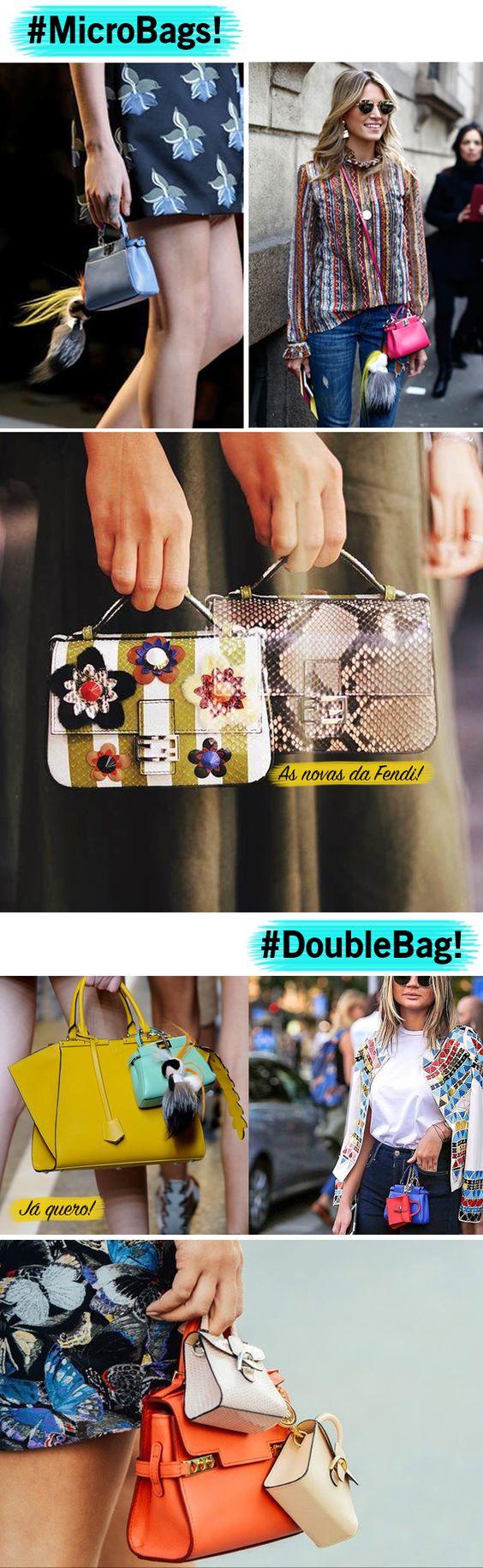 Tendência: Micro Bags!