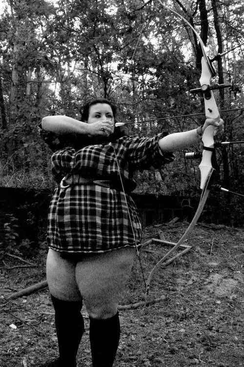 Archery naked nude girls