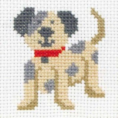 Anchor 1st Kit - Toby - Beginner Cross Stitch Kits - Cross Stitch Kits I Love Cross Stitch