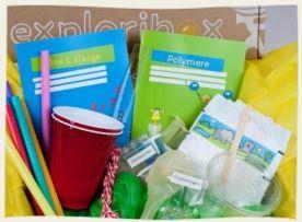 Exploribox - Experimentierkasten für Kinder im Alter von 5-10 Jahren