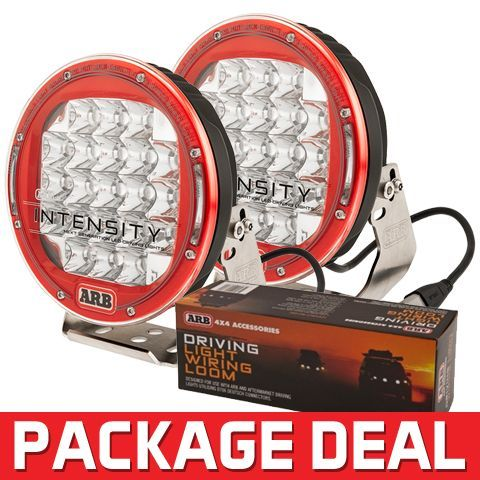[SCHEMATICS_4FD]  LED Off Road Driving Lights   ARB Intensity Lights   OK4WD   Package deal,  Intense, Ford ranger truck   Arb Wiring Harness Lighting      Pinterest