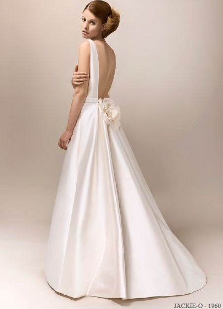 Jackie O Style Wedding Dress - Luxury Home Design Gallery