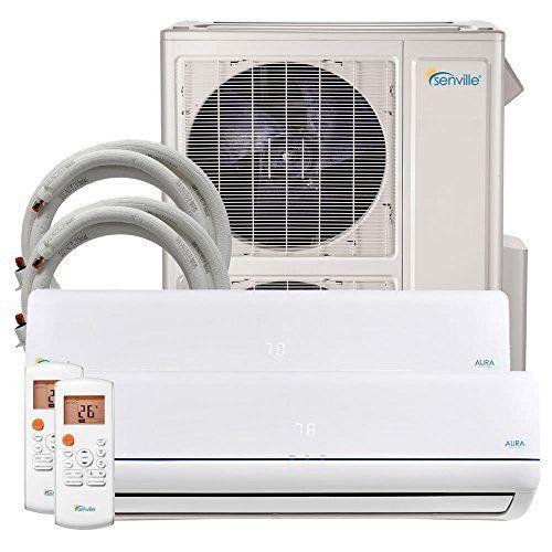 Senville 48000 Btu Dual Zone Mini Split Air Conditioner Heat Pump