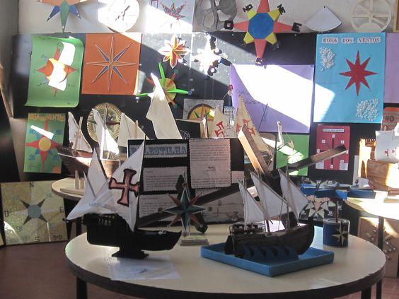 ideias para trabalhar a temática dos descobrimentos no pré-escolar - Pesquisa Google