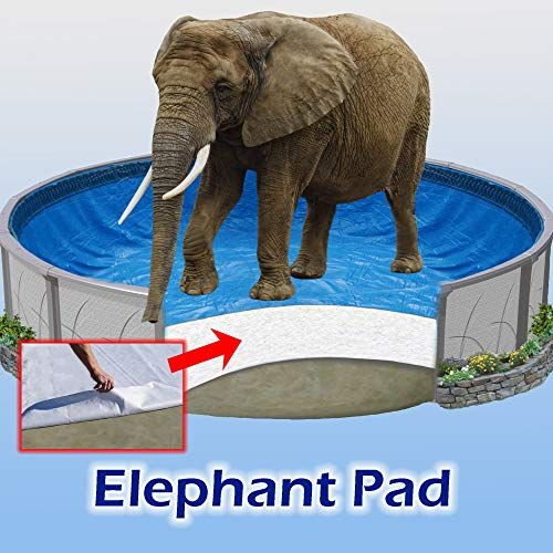 Amazing Offer On 24 Ft Round Pool Liner Pad Elephant Guard Armor