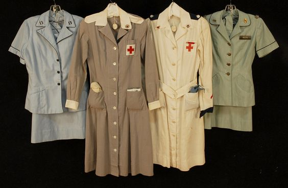 WWII military and nurse uniforms                              …