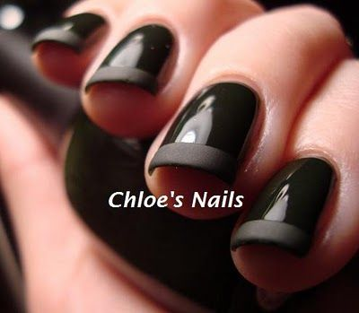 I love the matte black on black