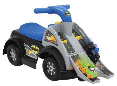 Amazon.com: Fisher-Price DC Friends Wheelies Batman Ride-On: Toys & Games