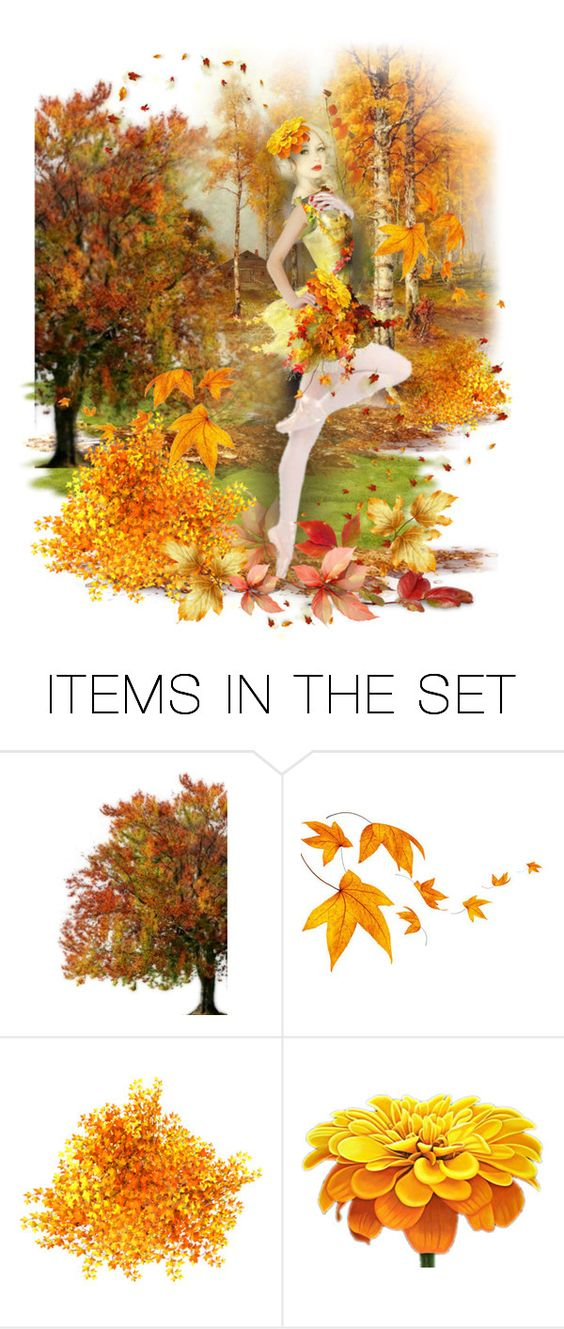 """""""autumn dance"""" by bb60477 ❤ liked on Polyvore featuring art"""