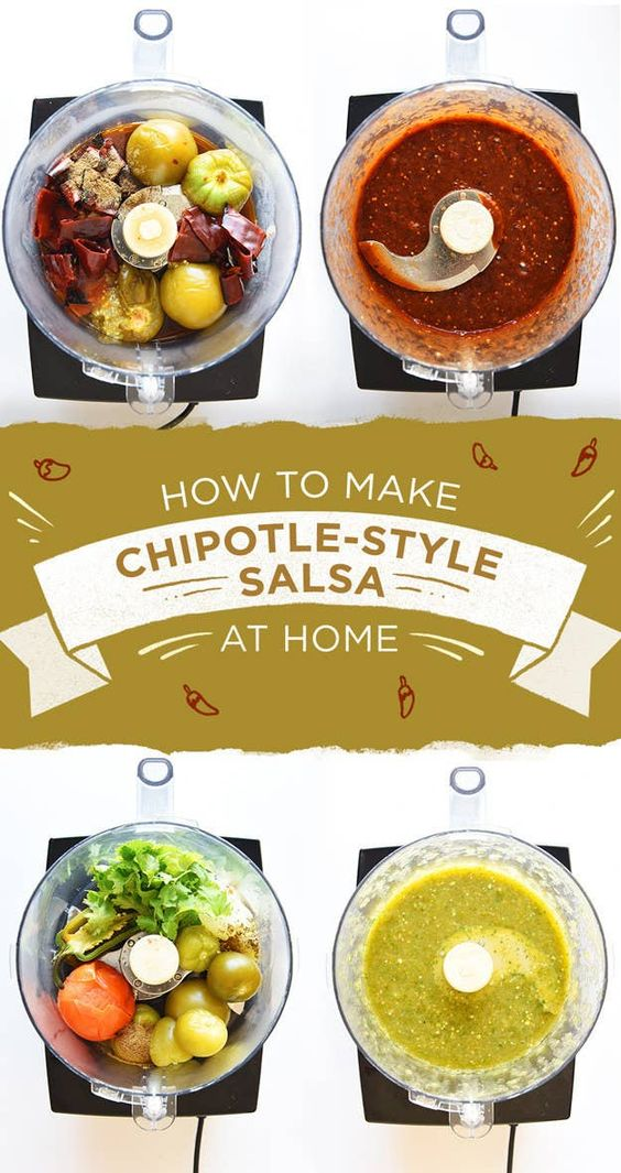 This Is How To Make All The Salsas On The Chipotle Menu