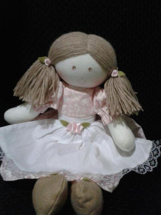 bonecas de tecido