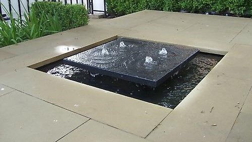 Modern Water Feature                                                                                                                                                      More: