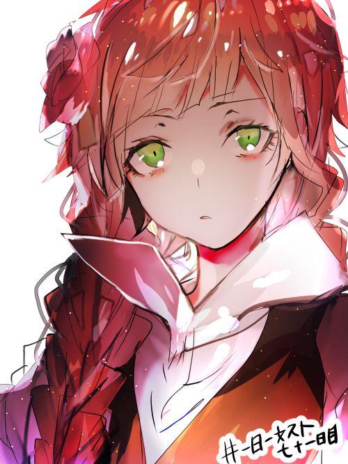 埋め込み画像   anime generation   Pinterest   Green, Green eyes ...