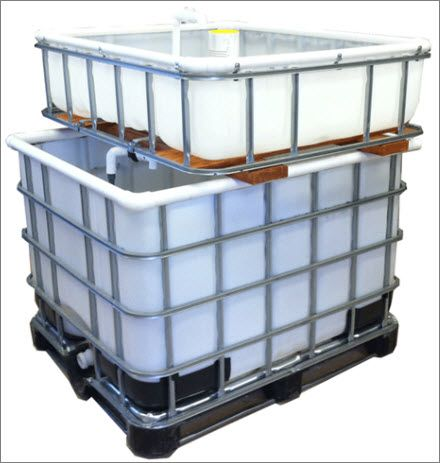 Aquaponics System How To | One IBC Tote System at The Aquaponic Source: