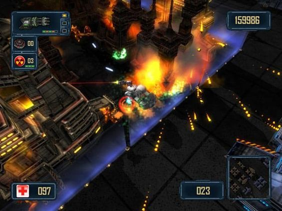 Alien Terminator Deluxe Game Screenshot