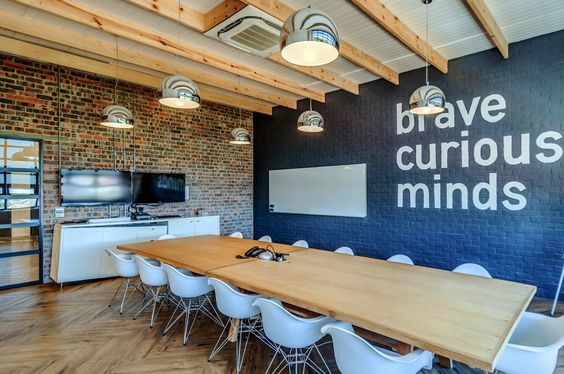 Brave Curious Minds - Boardroom at Quirks in South Africa.
