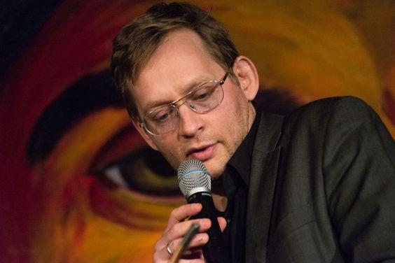 START ME UP (20.11.2014): Clemens Meyer auf dem Literaturfest München 2014 im MMA © Christian P. Schmieder