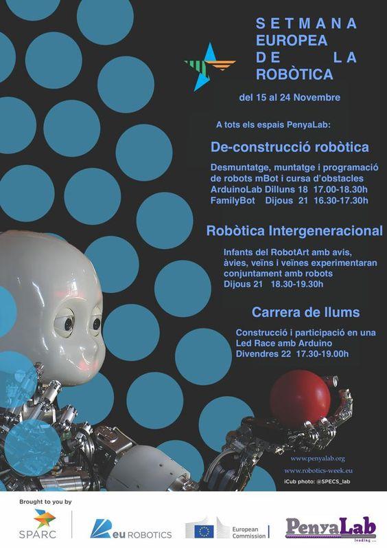 PenyaLab participa a la Setmana Europea de la robòtica 2019