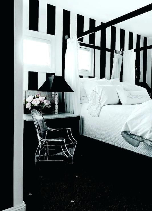 Delightful Black And White Vertical Striped Curtains Pictures New