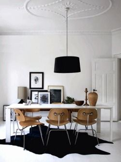 urbnite:  Eames Molded Dining Chair (DCM)