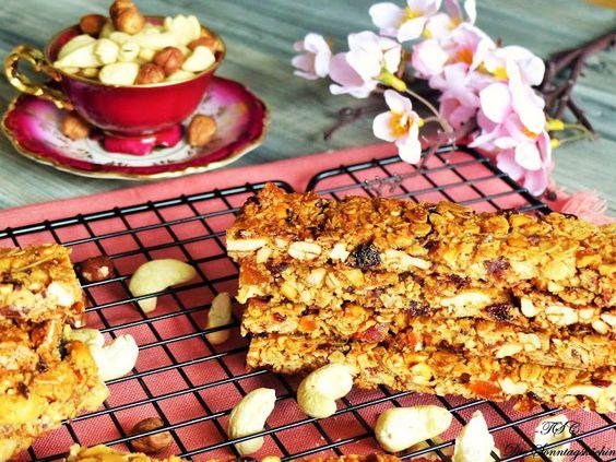 Die Sonntagsköchin: Die Knusperwelle....Fruchtige Müsli Riegel, perfekt für ein schnelles Frühstück.