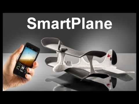 SmartPlane: The iPhone And Android Controlled Plane - http://bestdronestobuy.com/smartplane-the-iphone-and-android-controlled-plane/
