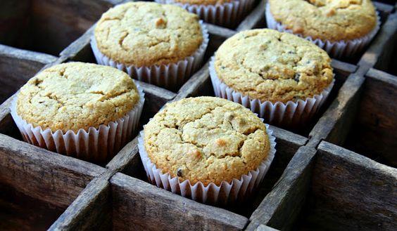 Best Ever Almond Flour Pumpkin Muffins.