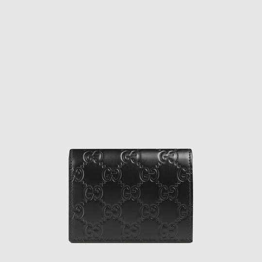 Gucci - Gucci Signature card case