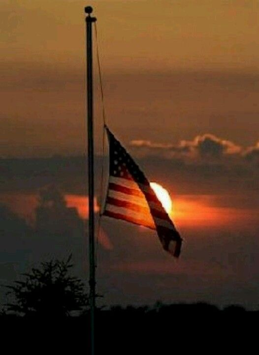 Nebraska flag at half staff for the terrible shooting in CT. :(