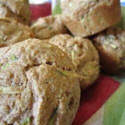 Whole Wheat Zucchini Muffins Allrecipes.com