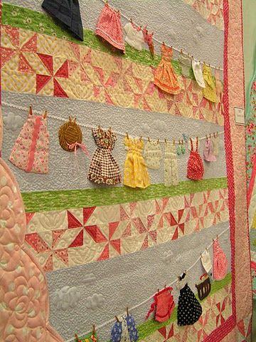 Clothesline quilt