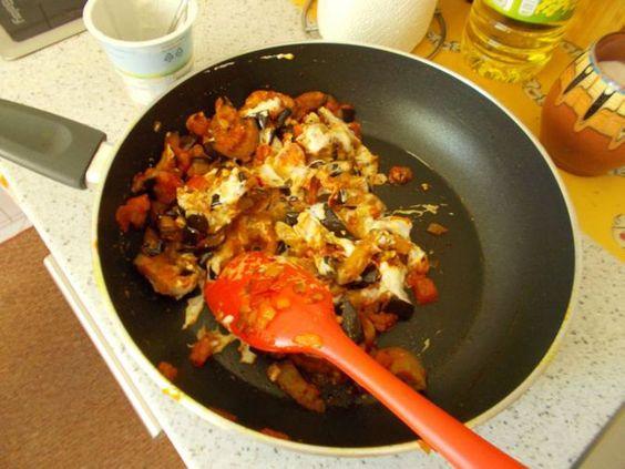 Auberginen-Curry mit Joghurtsauce (Rezept mit Bild) | Chefkoch.de