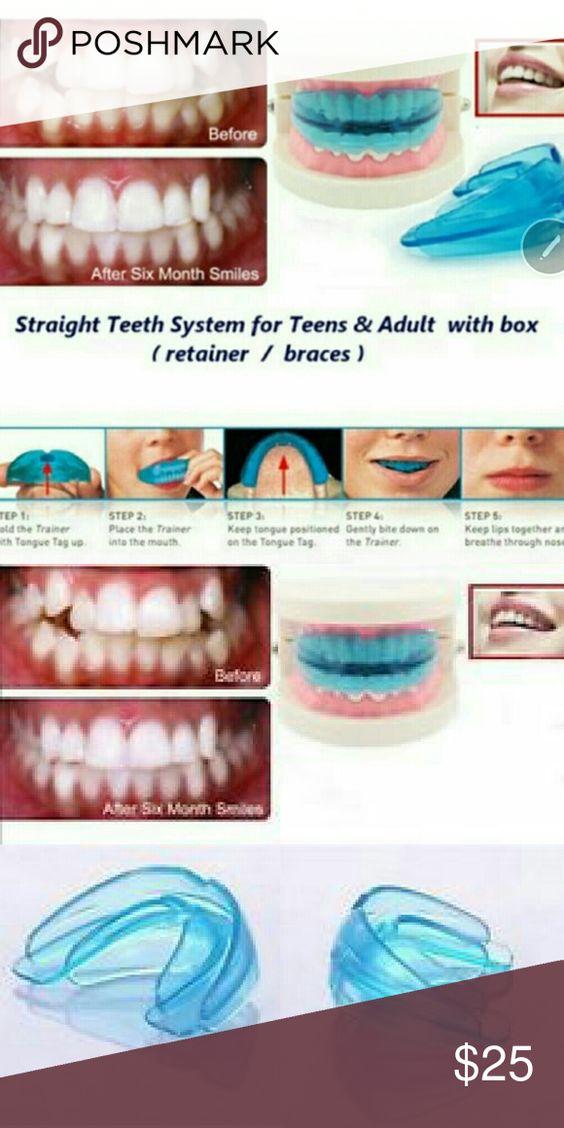 FREE ITEM w. This Teeth straightener!! For teeth straightening/ over bite, gap…