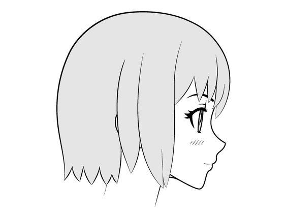 Vẽ gương mặt Anime với nụ hôn đẹp và dễ thương