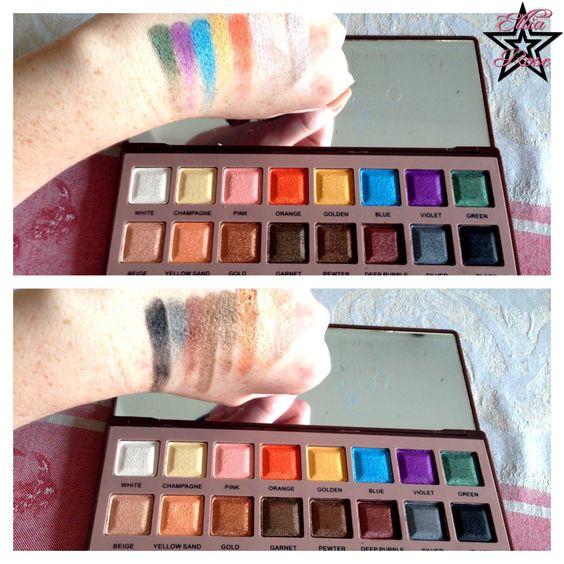 Palette Naked 6 d'Aliexpress